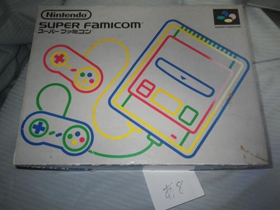 Game / Super Famicom /com Caixa / Com Manual