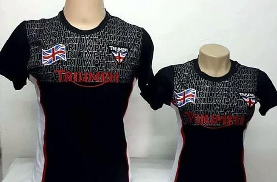 Kit 2 Camisetas Casal Triumph 2019