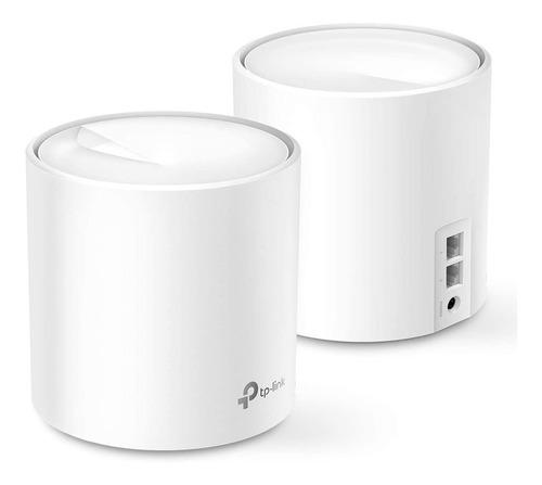 Imagen 1 de 4 de Tp-link Deco X20 Pack X 2 Mesh Ax1800 Wifi Repetidor Pp
