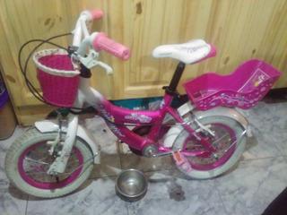 Bicicleta Raleigh Cupcakes Rodado 12 Para Nena