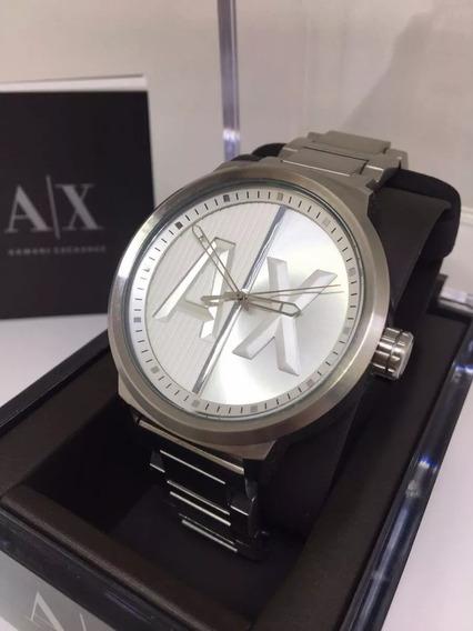 Relógio Qz1925 Armani Exchange Ax1364 Oversized / Caixa