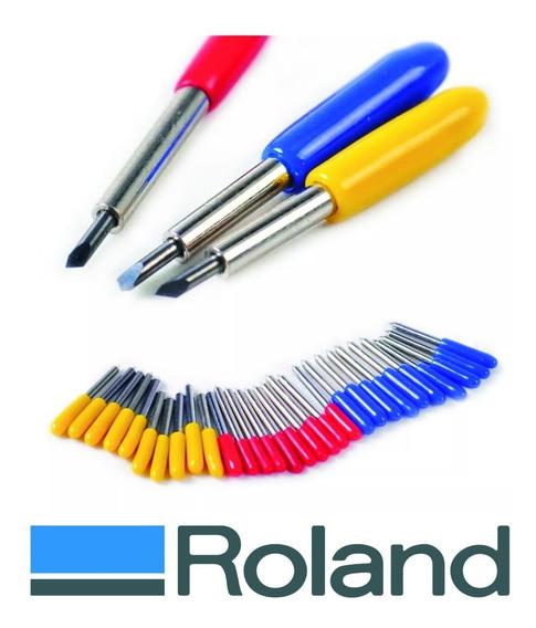 Cuchillas Roland Originales 30º 45º 60º Grados Maxi Duración