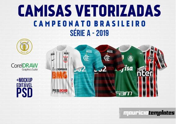Camisa Vetorizadas - Brasileiro 2019 - Série A