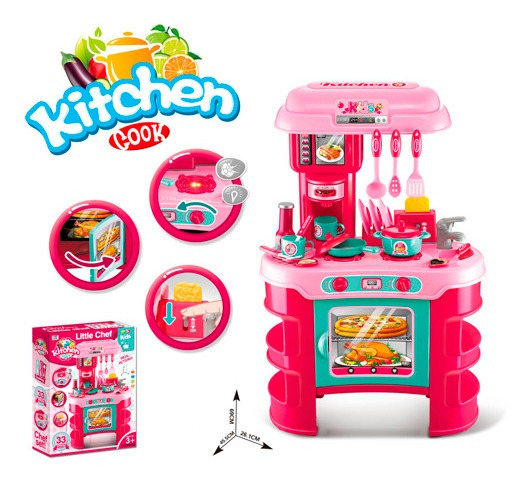 Set De Cocina Kitchen Cook