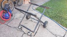 Carro Porta Karting Plegable. Ruedas Neumatica