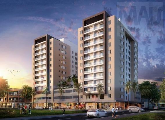 Apartamento Para Venda Em Passo De Torres, Centro, 2 Dormitórios, 1 Suíte, 2 Banheiros, 1 Vaga - Cvasc018