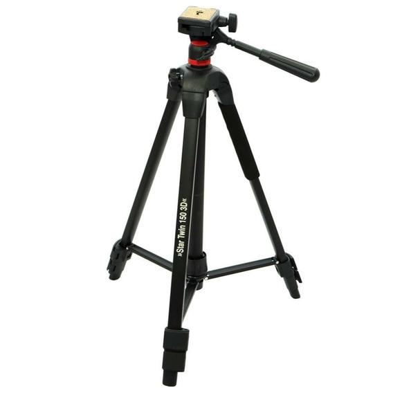 Tripé E Monopé 150cm Hama Star Twin 150 3d Para Foto E Vídeo