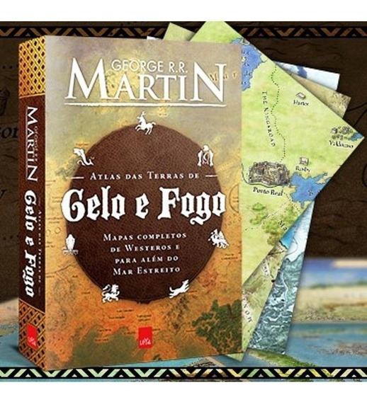 Atlas Das Terras De Gelo E Fogo Game Of Thrones Frete Grátis