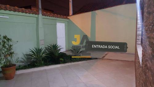 Casa Com 2 Dormitórios À Venda, 230 M² Por R$ 489.000,00 - Mirim - Praia Grande/sp - Ca12937