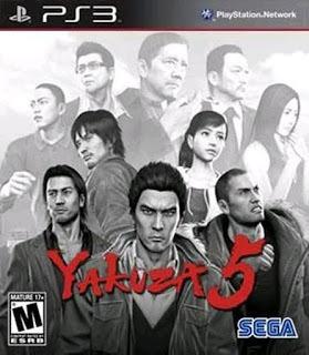 Yakuza 5 Juego Digital Ps3