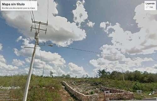 Venta De Lotes De 15 M X 10 M, Fuera De La Ciudad, A 200 Metros De La Carretera Federal, Oportunidad En Tixcacalcupul, Yucatán