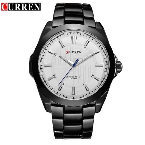 Relógio Masculino Aço Inox Curren 8109 Pronta Entrega