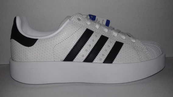 Tenis adidas Superstar Bold Platform 22y23.5 By9077 Original