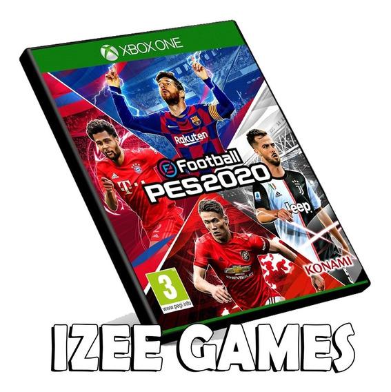 Pes 20 Pro Evolution Soccer Xbox One Mídia Digital + Brinde