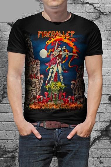 Camiseta Fireballet - Night On Bald Mountain