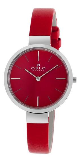 Relogio Oslo Ofbscs9t0001 V1vx Vermelho