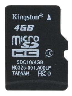 Kit Com 10 Micro Sd Card 4gb Classe 10 - Kingston