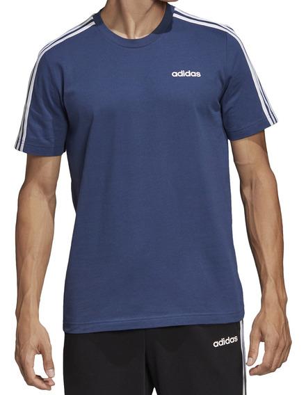 Remera adidas Training Essentials 3s Hombre Az/bl