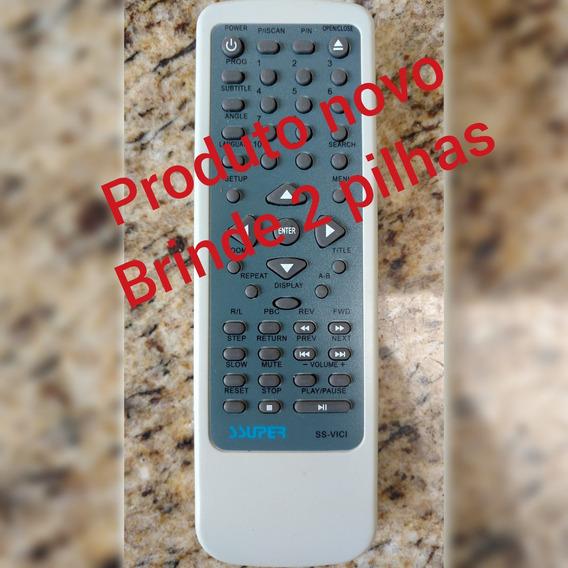 Controle Remoto Dvd Vicini Vc900/ 902b/ 910/ 911/ 922/ 933