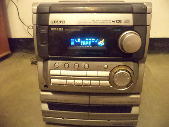 Equipo Reproductor Dvd Y Cassette