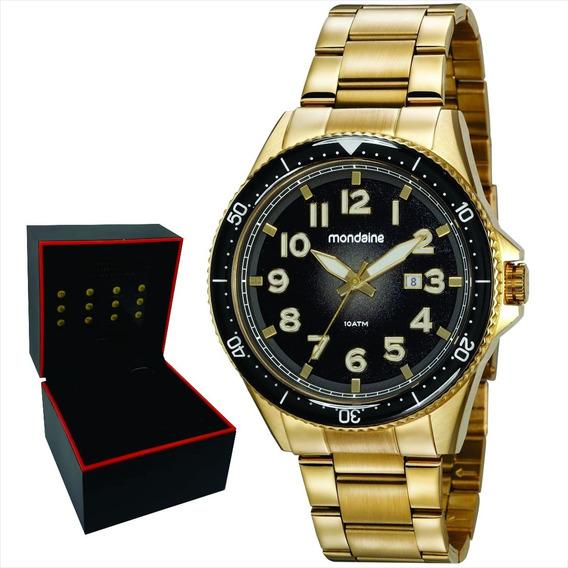 Relógio Mondaine Masculino Original Garantia Nf 32136gpmvds2