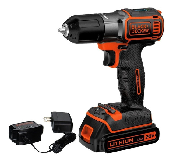 Taladro Atornillador 3/8 In 20 V Max Litio Ion Black&decker