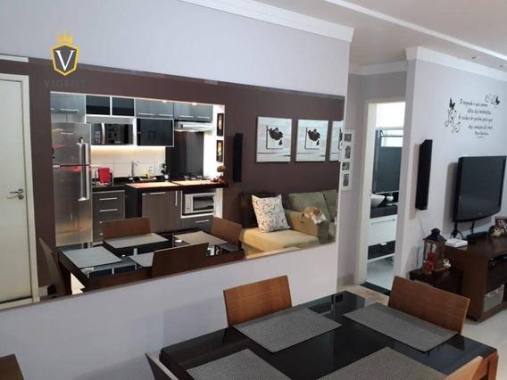 Lindo Apartamento Tèrreo À Venda No Spazio Jabuticabeiras Em Jundiaí - 51 M², 2 Dorm., 1 Banheiro, 1 Vaga, Todo Reformado! - Ap1230