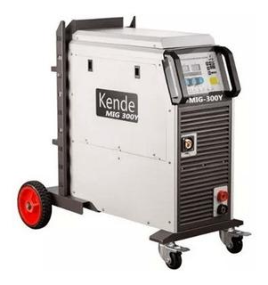 Maquina De Soldar Mig Kende 300 Amp Trifasica
