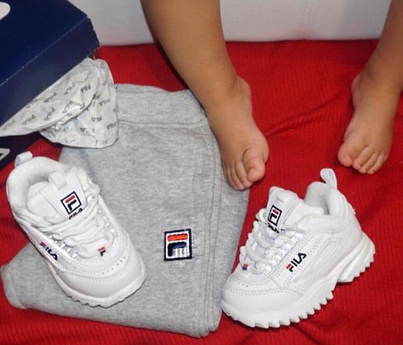 Zapatos Fila Para Niño Y Niña