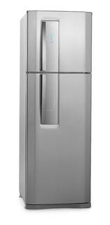 Geladeira frost free Electrolux DF42 aço inoxidável com freezer 382L 110V
