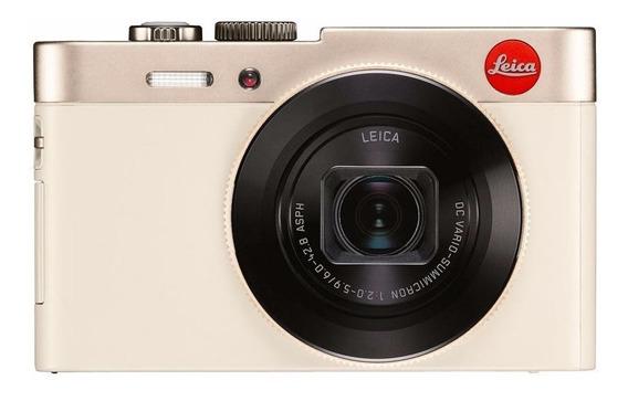 Camara Fotografica Leica Color Dorado