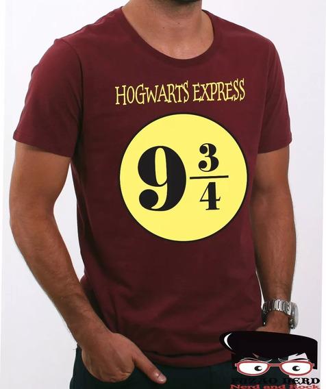 Camisa, Camiseta Harry Potter Plataforma 9 3/4
