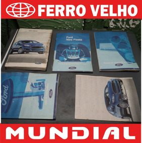 Manual Proprietário New Fiesta 2013 Original