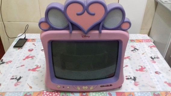 Tv14 Polegadas Princesas Da Disney(apenas Retirada No Local)