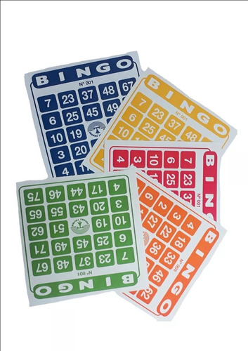 100 Cartones   Bingo/bazarjameslapintana