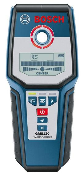 Bosch Multi-scanner Gms120 - Scanner Parede - Detector