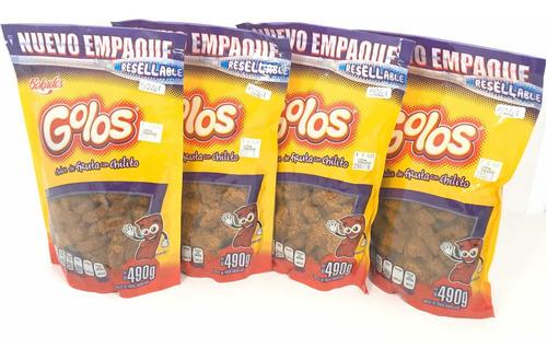Imagen 1 de 4 de Golos Tamarindo Dulce Fruta Chile Bokados 4 Bolsas 500 Grs