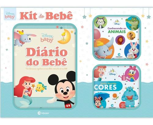 Imagem 1 de 5 de Box Disney Baby - Kit Do Bebê