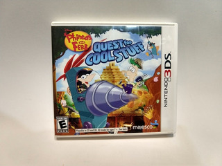 Phineas And Ferb Quest For Cool Stuff 3ds 2ds Juegazo!!!