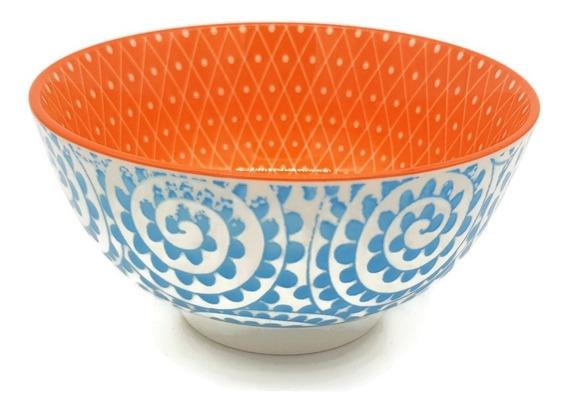 Cuenco Bowl Compotera Copetinero Ceramica Decorados