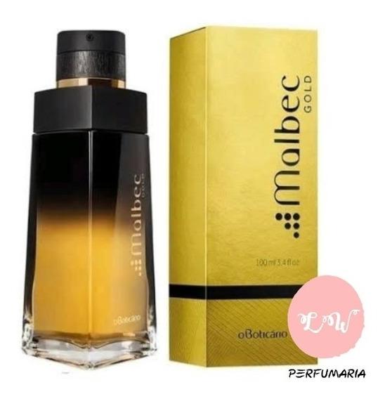 Perfume Masculino Malbec Gold 100ml De Oboticário Original