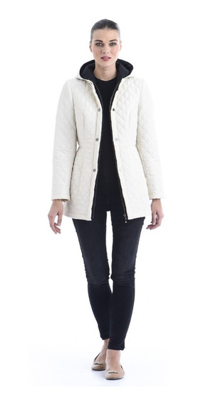 Chamarra Saori Cazadora Ligera Dama Mujer Shyla Jacket Hueso