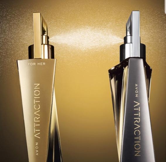 Perfume Attraction Feminino + Masculino. Avon (promoção!)