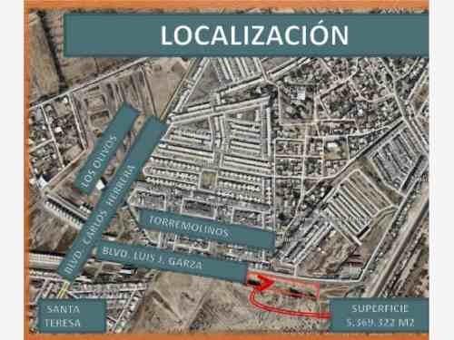 Terreno En Venta En Blvd. Luis J. Garza