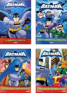 Lote X 4 - Batman - Nuevos Infantiles