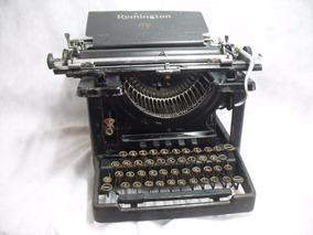 Maquina De Escrever Muito Antiga Remington Funciona