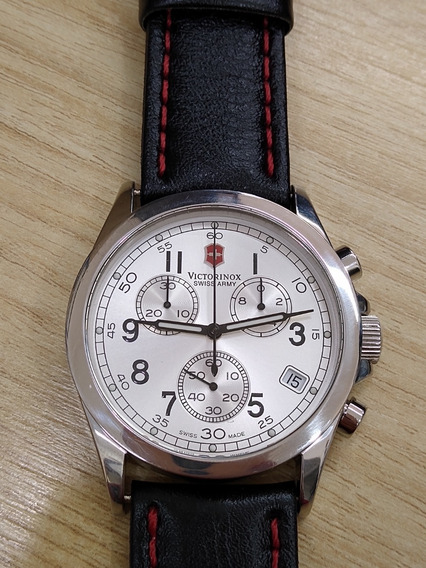 Relógio De Pulso Suíço Victorinox Cronógrafo