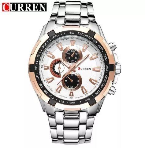 Relógio Curren Masculino 8023 Social Luxo Promoção
