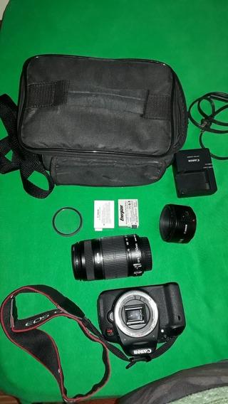Câmera Canon T5i. Lente 50mm Original E Uma 55 250mm
