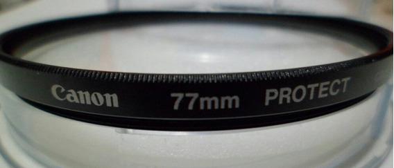 Filtro Canon Diâmetro 77 Original Protect Profissional Foto